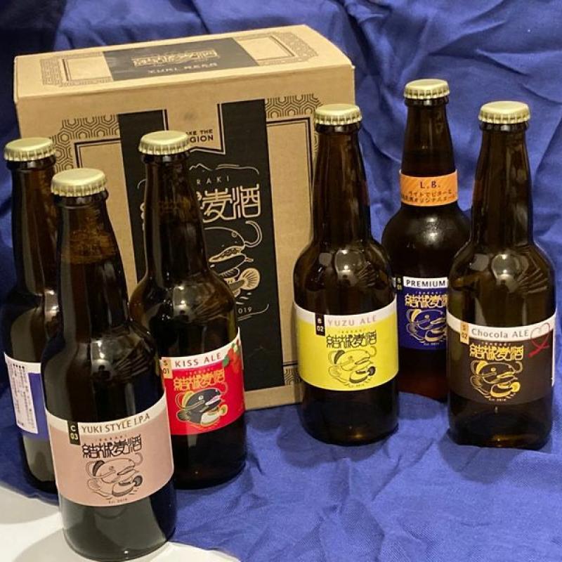 クラフトビール6本セット(結城麦酒醸造)