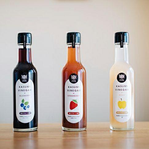 KASUMI VINEGAR (飲むフルーツ酢)3種セット